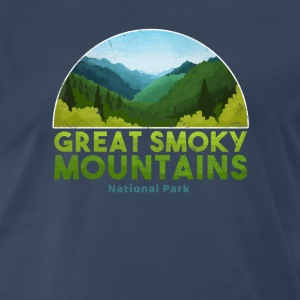 Great Smoky Mountain National Park T shirt Hiking - Men's Premium T-Shirt