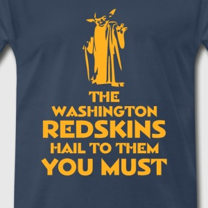 Hail to the Redskins - Men's Premium T-Shirt