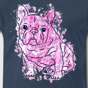 French Bulldog Bully Frenchie Frenchy Dog Gift - Men's Premium T-Shirt
