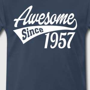 Awesome Since 1957 - Men's Premium T-Shirt