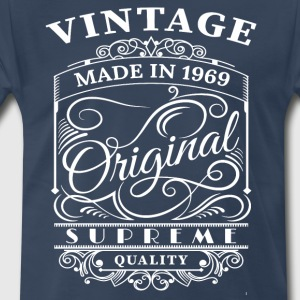 Vintage Made in 1969 Original - Men's Premium T-Shirt