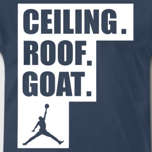 ceiling roof goat shirt - Men's Premium T-Shirt