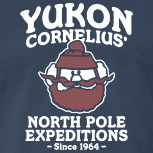 Yukon Cornelius North Pole Expeditions - Men's Premium T-Shirt