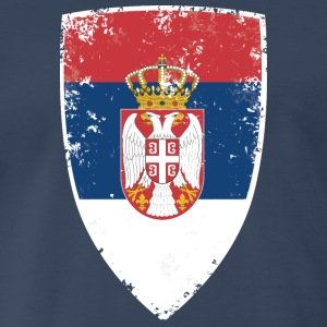 Flag of Serbia - Men's Premium T-Shirt