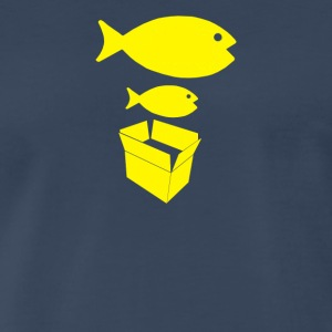 Big Fish Little Fish - Men's Premium T-Shirt