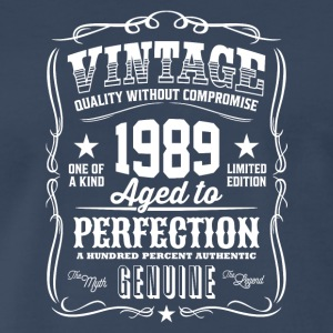 Vintage 1989 Aged to Perfection - Men's Premium T-Shirt