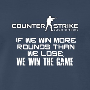Best CSGO Shirts | Win More Rounds | CSGO Tshirts - Men's Premium T-Shirt