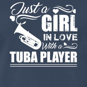Girl In Love With Tuba Player - Men's Premium T-Shirt