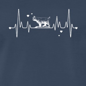 Bobcat Heart Shirt - Men's Premium T-Shirt