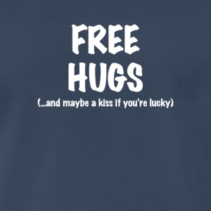 Free Hugs Short Sleeve T-Shirt in Black - Men's Premium T-Shirt