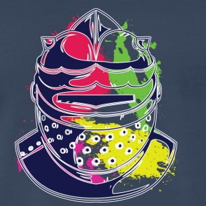 HELMET COLORFUL - Men's Premium T-Shirt