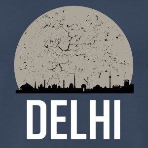 Delhi Full Moon Skyline - Men's Premium T-Shirt
