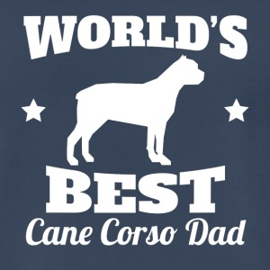 Worlds Best Cane Corso Dad - Men's Premium T-Shirt