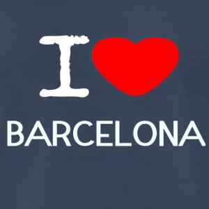 I LOVE BARCELONA - Men's Premium T-Shirt