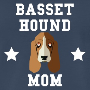 Basset Hound Mom Dog Owner - Men's Premium T-Shirt
