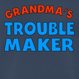 Grandma's Trouble Maker - Men's Premium T-Shirt