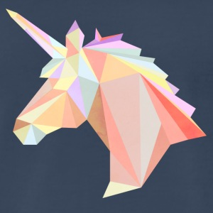 Low-poly Unicorn - Men's Premium T-Shirt