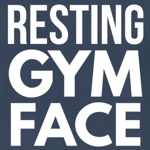 Resting Gym Face - Men's Premium T-Shirt