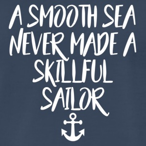 Skillfull sailor w/ anker - Men's Premium T-Shirt