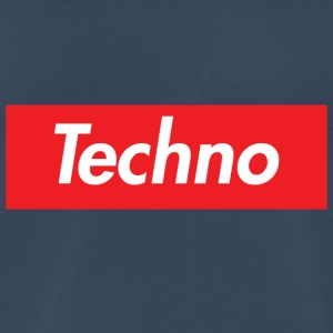 Supreme Techno Homage - Men's Premium T-Shirt