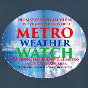 Metro Weather Watch Merchandise - Men's Premium T-Shirt
