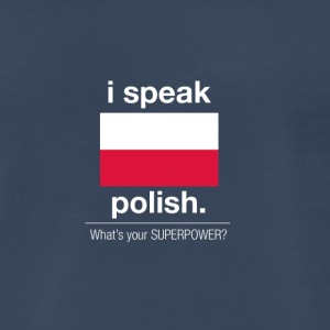 SUPERPOWER polish - Men's Premium T-Shirt