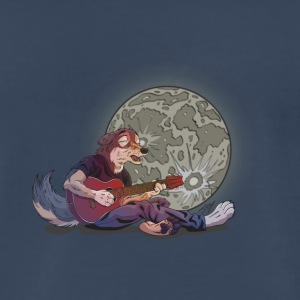 Howlin at the Moon - Men's Premium T-Shirt
