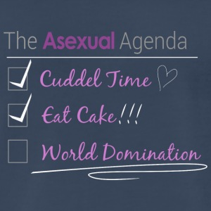 The Asexual Agenda - Men's Premium T-Shirt