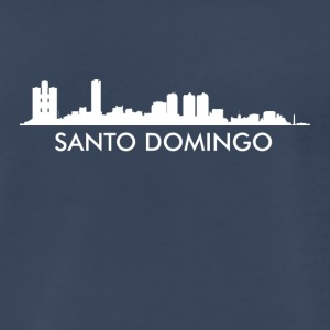 Santo Domingo Dominican Republic Skyline - Men's Premium T-Shirt