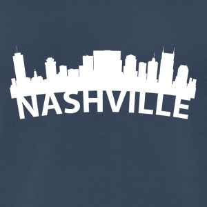 Arc Skyline Of Nashville TN - Men's Premium T-Shirt