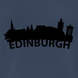 Arc Skyline Of Edinburgh Scotland - Men's Premium T-Shirt