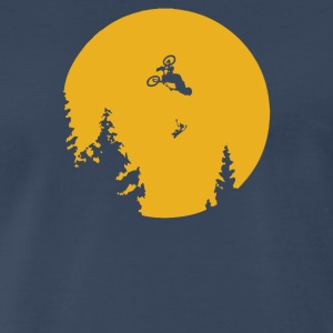 ET Moon BMX - Men's Premium T-Shirt