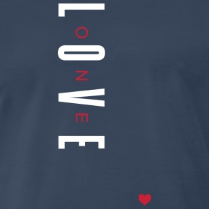One Love (White/Red Letters)