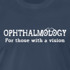 Ophthalmology Vision White Text