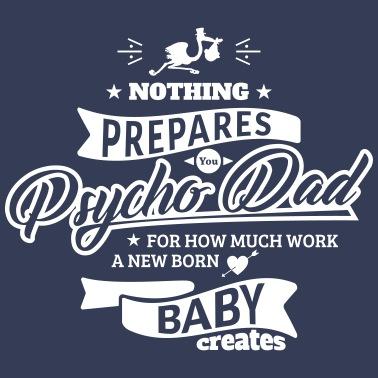 58d141d21 Psycho Dad shotguns Men's Premium T-Shirt | Spreadshirt