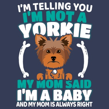 7f3a00aed Yorkie Yorkshire Terrier Dog Doggie Gift - Men's Premium T-Shirt