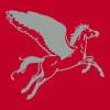 flying horse pegasus - Men's Premium T-Shirt