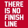 There is no finish line - Men's Premium T-Shirt
