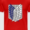 Scouting Legion- Recon Corps- Attack on Titan - Men's Premium T-Shirt