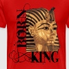 king tut1 born king ink design.png T-Shirts - Men's Premium T-Shirt