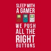 Gaming Sleep with a Gamer T Shirt - Men's Premium T-Shirt