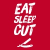 Barber Eat Sleep Cut Barber - Men's Premium T-Shirt