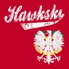 Hawkski Chicago Polish - Men's Premium T-Shirt