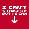 i cant stand up - Men's Premium T-Shirt