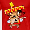 mexican with guitar - Men's Premium T-Shirt