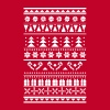 Christmas sweater pattern - Men's Premium T-Shirt