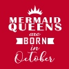 October Mermaid Queens - Men's Premium T-Shirt
