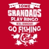 Real Grandads Go Fishing T Shirt - Men's Premium T-Shirt