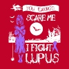 You Can't Scare Me I Fight Lupus T Shirt - Men's Premium T-Shirt