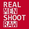 Real Men Shoot Raw - Men's Premium T-Shirt